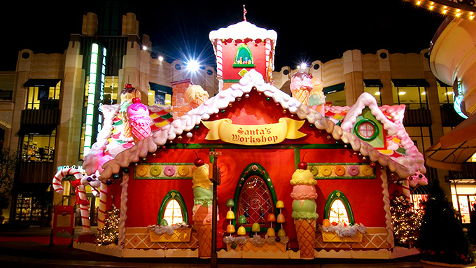 Santa 39 s house at the grove attractions events cinnabar for The grove house